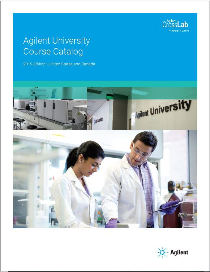 Agilent Customer Education Catalog
