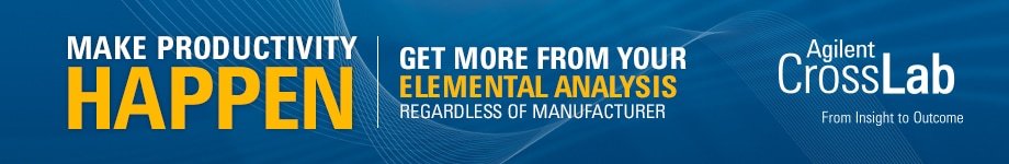 MAKE PRODUCTIVITY HAPPEN - GET MORE FROM YOUR ELEMENTAL ANALYSIS REGARDLESS OF MANUFACTURER