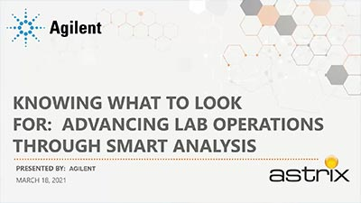 Knowing What To Look For: Advancing Lab Operations Through Smart Analysis