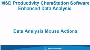 GC/MSD ChemStation Software | Agilent